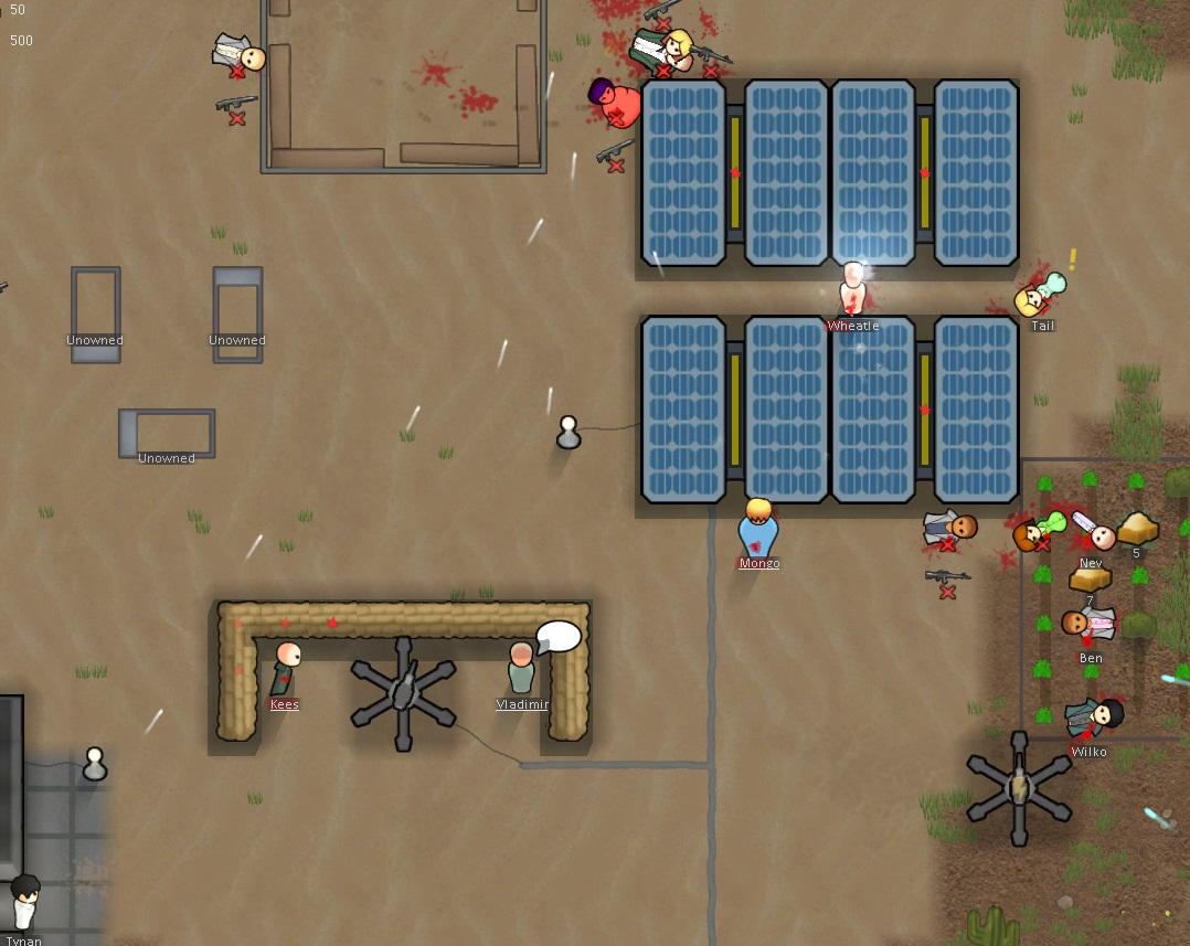 Rimworld - Establish a colony on an AI-driven frontier